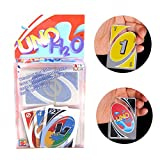 UNO Card Games,Standard Playing Card Waterproof Clear Poker Card for Family Party Kids Toy (Tamaño: 56cm*86cm)