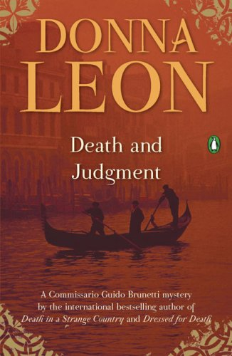Death and Judgment (Commissario Guido Brunetti Mysteries)