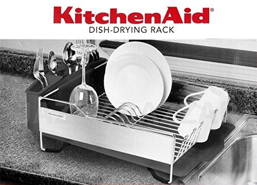 Kitchenaid Dish Drying Rack - Stainless Steel Dark Grey