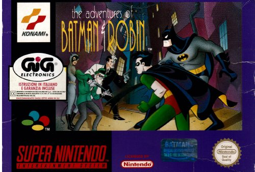 The Adventures Of Batman And Robin - Nintendo Super Nes front-1076689