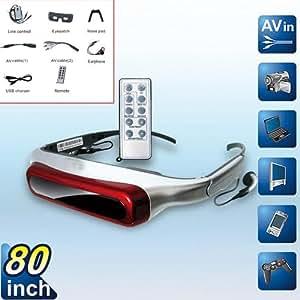 EVG920V 80inch 3D Video Glasses