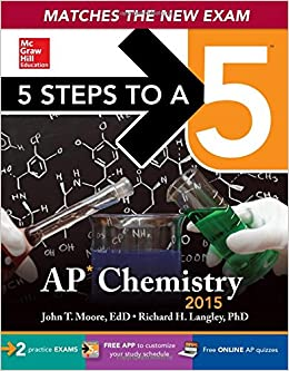 Advanced placement examination in chemistry