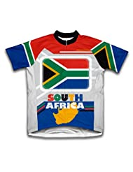 South Africa Short Sleeve Cycling Jersey for Women