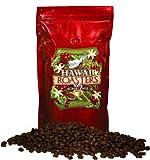 Hawaii Roasters 100% Kona Coffee, Dark Roast, Whole Bean, 16-Ounce Bag