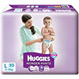 Huggies Wonder Pants Large Size Diapers (50 Count)