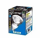 パナソニック 電球形蛍光灯 レフ形 電球100Wタイプ クール色(昼光色) E26口金 パルックボール スパイラル EFR25ED/22-SP