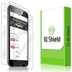 IQ Shield LiQuidSkin - Apple iPhone 6S Plus 5.5 Screen Protector + Full Body Front & Back with Lifetime Replacement - HD Ultra Clear Film Guard - Extremely Smooth / Self-Healing / Bubble-Free Shield