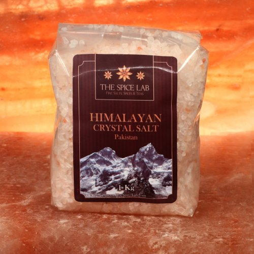 1 Klio / 2.2 Pounds - Original Himalayan Pink Crystal Bath Sea Salt ( Coarse Grain ) Great for your next Bath - Imported by TheSpiceLab Inc.