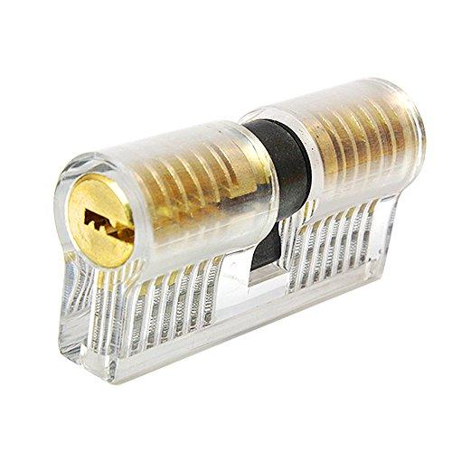 JTENG-profilzylinder-Zylinderschloss-Transparents-bungsschloss-Schloss-Schlssern-Vorhngeschlsser-bungszylinder-mit-2-Stabilen-Schlsseln-fr-Schlosser-Anfnger