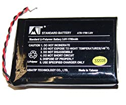 RTI T3V, T3V+ Li-Polymer Rechargeable Battery