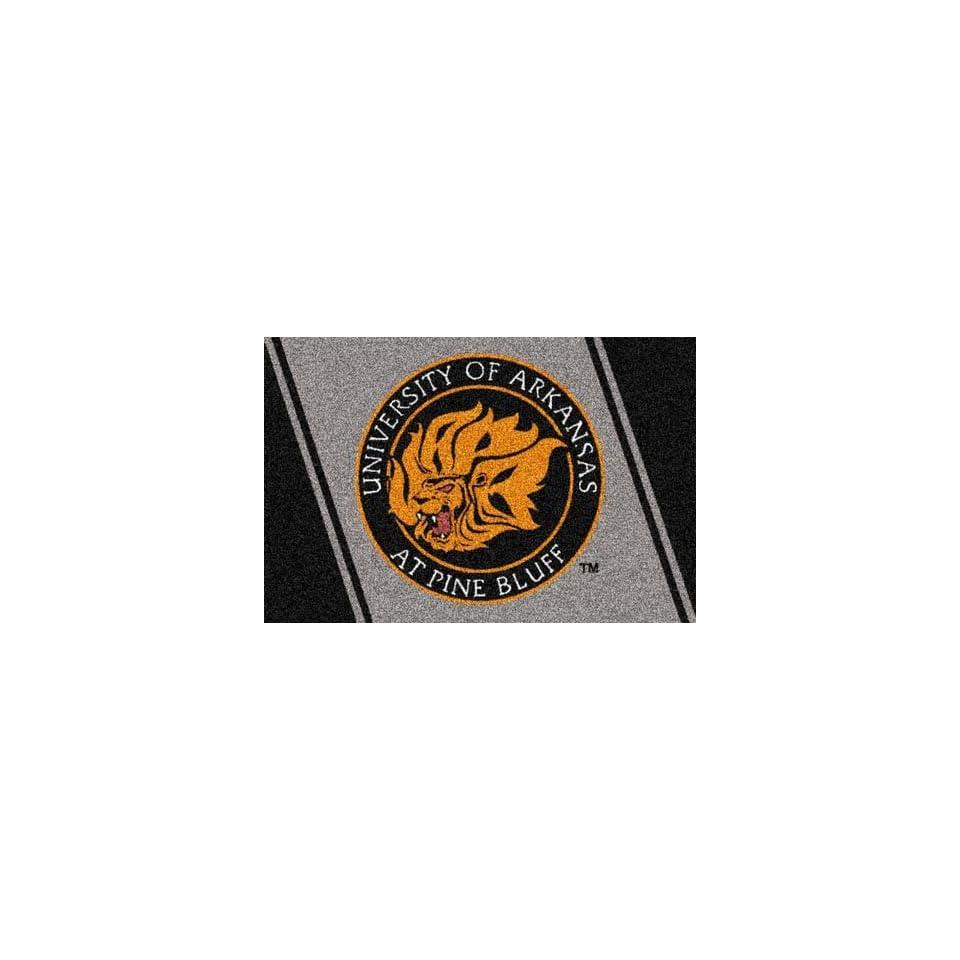 Arkansas (Pine Bluff) Golden Lions 4 x 6 Team Door Mat