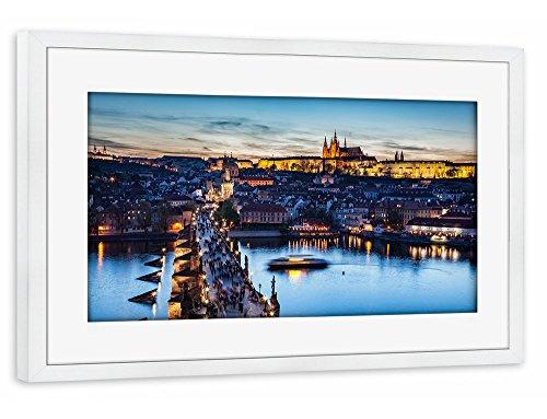 artboxone-poster-mit-rahmen-30x20-cm-stadte-stadte-prag-charles-bridge-on-vltava-river-in-prague-cze