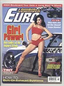 Lowrider Euro Magazine May 2000 Vol.3 #2: Marco A. Patino: Amazon.com