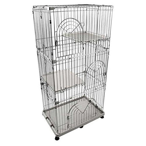 IRIS 3-Tier Wire Cat Cage