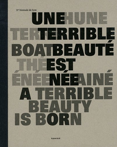 11th Lyon Biennale: A Terrible Beauty Is Born  [Various] (Tapa Dura)