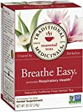 Traditional Medicinals Breathe Easy Tea, 16 Tea Bags (Pack of 6)