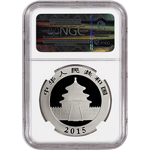 2015-CN-China-Silver-Panda-1-oz-10-Yuan-MS69-First-Releases-Bilingual-Label-NGC