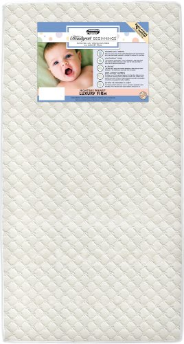 Simmons Kids Beautyrest Beginnings Nighttime Whimsy Luxury Firm Baby Crib and Toddler Mattress