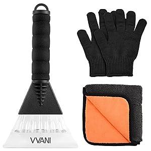 車用除雪セット 氷スクレーパー 除雪タオル 耐切手袋 冬の必需品 軽量 携帯式 便利グッズ 家庭用除雪用品