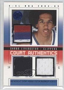 Shaun Livingston #6 Los Angeles Clippers (Basketball Card) 2004-05 E-XL Court...