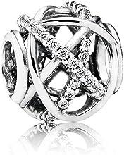 Pandora 791388CZ - Joyería de plata de ley con zirconia