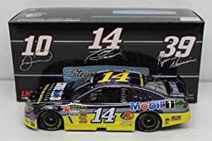 Tony Stewart 2013 Code 3 Associates Mobil 1 1:24 Color Chrome Nascar Diecast by Action Racing Collectables