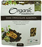 Organic Traditions Dark Chocolate Almonds