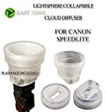 Gary Fong lightsphere CLOUD Collapsible FOR CANON 540EZ 420EX 550EX 430EX 580EX 580EX II 430EX II 270EX 380EX