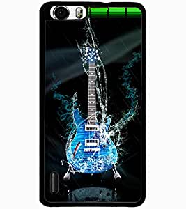 ColourCraft Amazing Guitar Design Back Case Cover for HUAWEI HONOR 6 PLUS