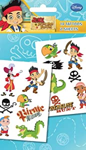 Jake And The Neverland Pirates Temporary Tattoos