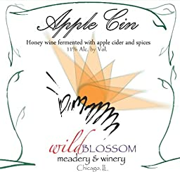 NV Wild Blossom Meadery & Winery Apple Cin Mead 750 mL