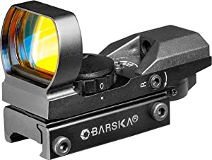 BARSKA 1x, 22mm-33mm Multi-Reticle Electro Sight