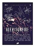 Alexisonfire Signed Autographed 21cm x 29.7cm A4 Poster Photo