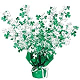Shamrock Gleam N Burst Centerpiece Party Accessory (1 count) (1/Pkg)