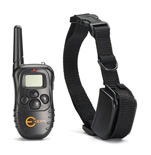Lcd 100Lv Level Electric Shock Vibra Remote Dog Training Collar Adjustable