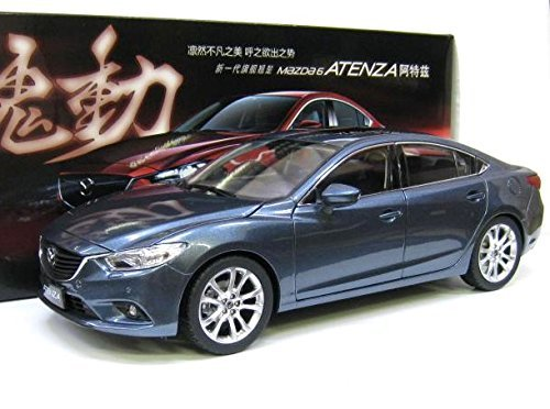 Mazda特注 1/18 マツダ アテンザ セダン (ブルーリフレックスマイカ) SKY ACTIV 魂動