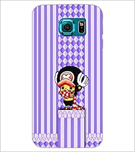 PrintDhaba Cartoon D-1959 Back Case Cover for SAMSUNG GALAXY S6 (Multi-Coloured)