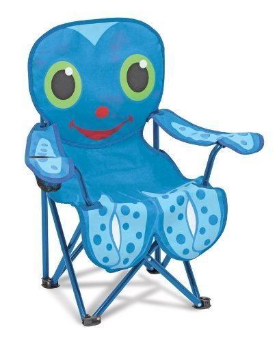 Melissa & Doug Sunny Patch Flex Octopus Chair Color: Blue Outdoor, Home, Garden, Supply, Maintenance Model: