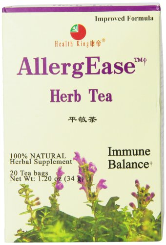 Health King Health King Herb Tea, Allergease, Teabags, 20 Count Box