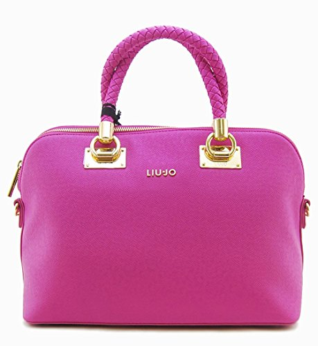 LIU JO Anna Shopping M Dark Rosa