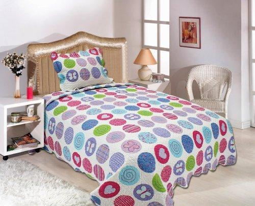 Polka Dot Twin Bedding 4130 front