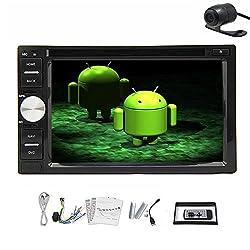 See Pupug 6.2'Android 4.2 2DIN Car DVD Radio GPS Stereo Player Wifi BT 1080P FASTESTHeadunit FM Radio Video Dual CPU Back Camera Details