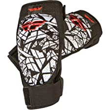 Fly Racing Barricade Adult Elbow Guard Off-Road/Dirt Bike Motorcycle Body Armor - Black / Small/Medium