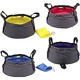 Outdoor Camping Hiking Unfolding Wash basin Bucket Travel Bag