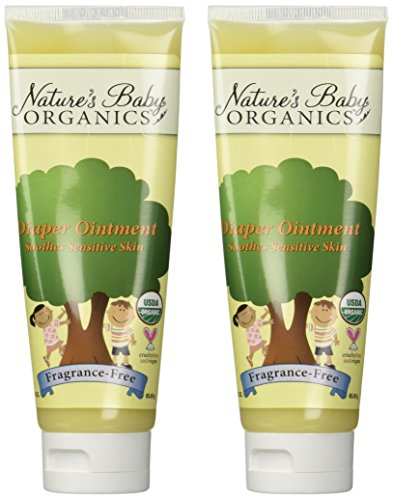 Natures Baby Diaper Ointment Fragrance-Free 3 oz
