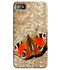 Blue Throat Printed Designer Back Cover For Blackberry Z10