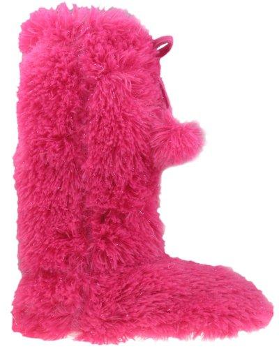 Cheap Capelli New York Faux Fur With Metallic Yarn Fur Boot Girls Indoor Slippers (B004AHP2N4)