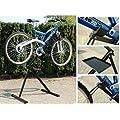 Torrex 30122 Bike Work Stand Bicycle Repair Work Stand with instrument deposition
