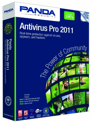 Panda Antivirus Pro 2011 3-PC- Soft Pack