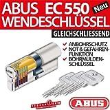 ABUS Profilzylinder Zylinder Türzylinder EC550 EC 550 gleichschliessend Lagerschliessung, Länge:30/40